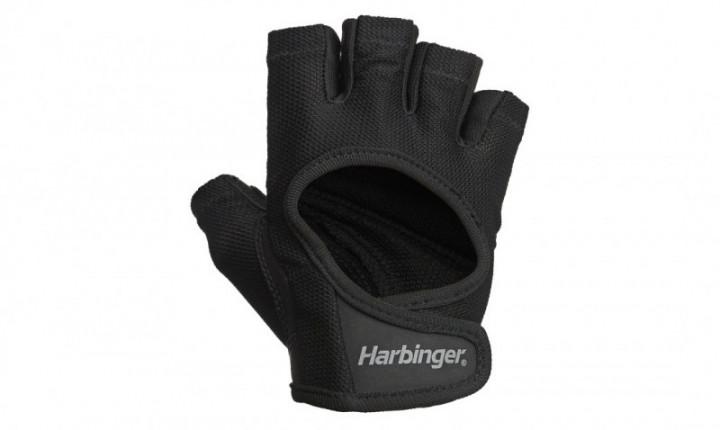 Harbinger Women Power Gloves Black - Medium