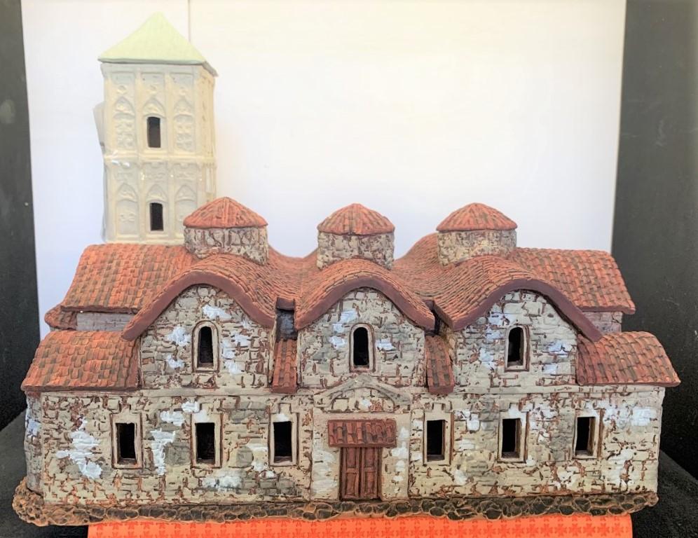 Church Ayios Lazaros Larnaca, Cyprus - 28cm x 21cm