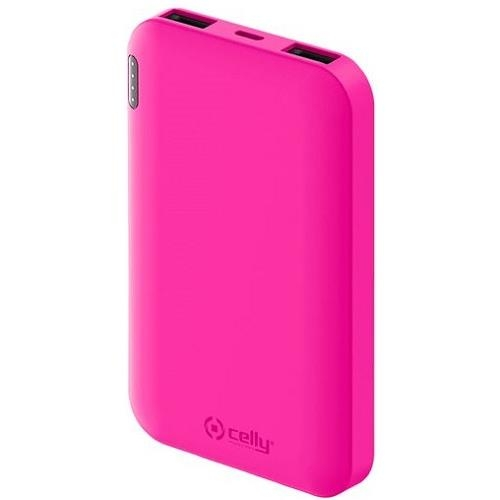 Celly Power Bank Energy 5000Mah Pink