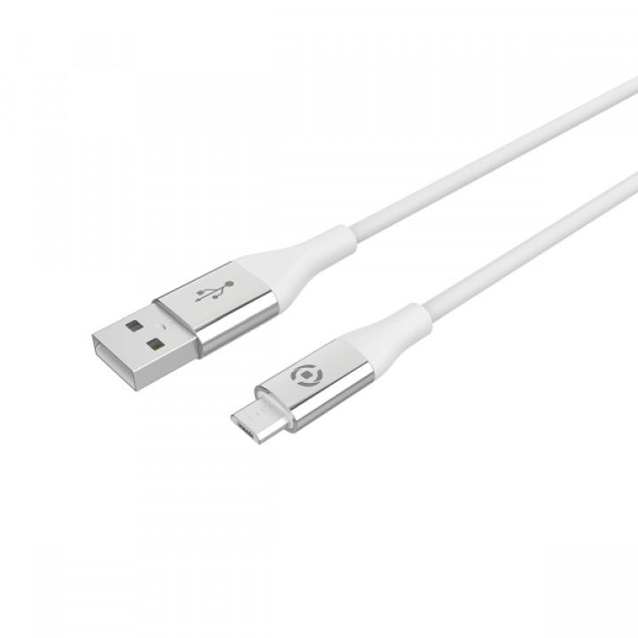 Celly Data Cable Lightning Cable to Type C 2m White