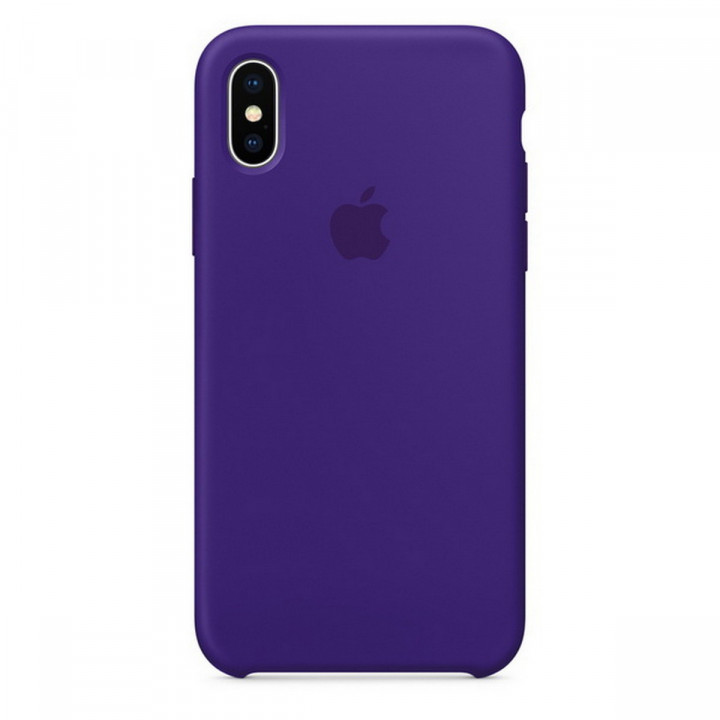 Apple iPhone X Silicone Case Ultra Violet