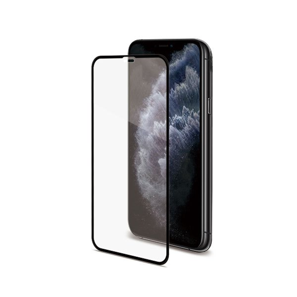 Celly Tempered Glass (Full Glass) For Apple iPhone 11 Pro Max Black
