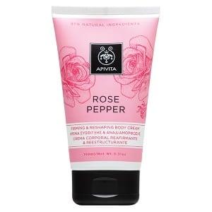 Apivita Body Cream Rose Pepper 150ml