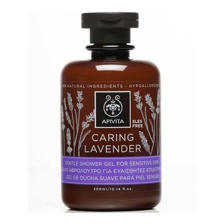 Apivita Shower Gel Caring Lavender 300ml