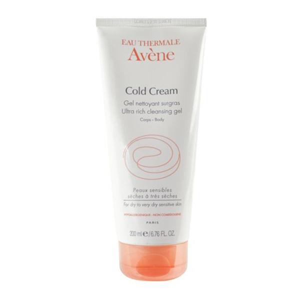 Avene Cold Cream Ultra Rich Cleansing Gel 250ml