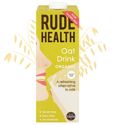 Rude Health BIO OAT DRINK GLUTEN FREE x 1 Ltr