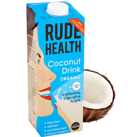 Rude Health BIO COCONUT DRINK GLUTEN FREE x 1 Ltr