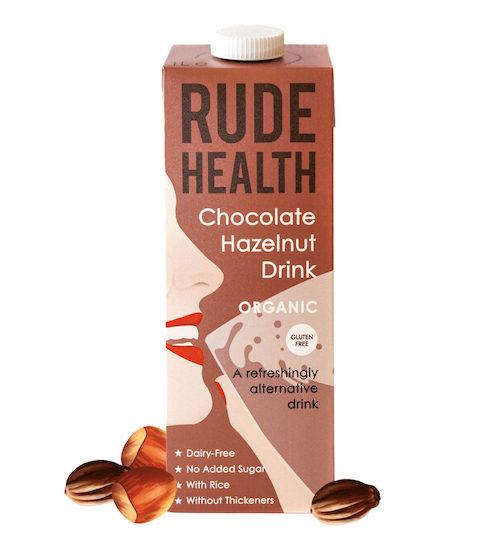 Rude Health BIO CHOCOLATE HAZELNUT DRINK GLUTEN FREE x 1 Ltr