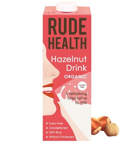 Rude Health BIO HAZELNUT DRINK GLUTEN FREE x 1 Ltr