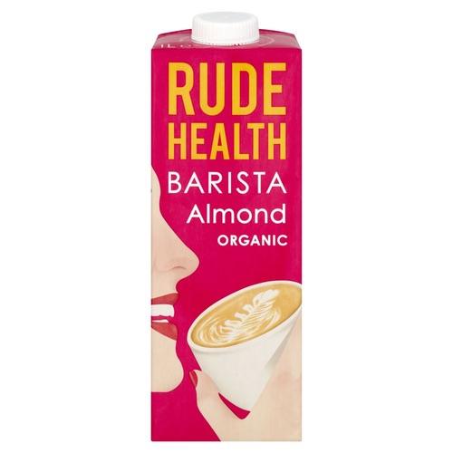 Rude Health BIO ALMOND BARISTA x 1 Ltr