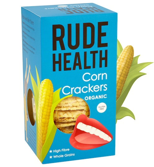Rude Health BIO CORN CRACKERS GLUTEN FREE