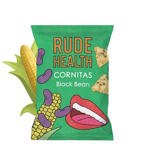 Rude Health BLACK BEAN CORNITAS GLUTEN FREE - 90g