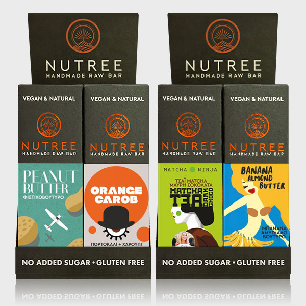 2 NUTREE BOXES - 24 PIECES X 60G