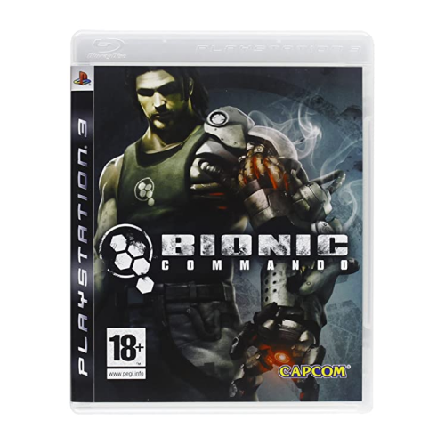 Bionic Commando Game for PS3, PAL Version