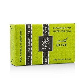 APIVITA NATURAL SOAP OLIVE 125G