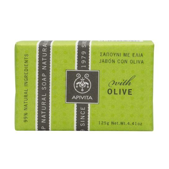 Apivita Propoline Natural Soap With Olive 125g
