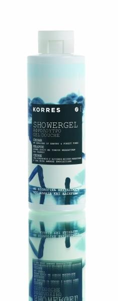 KORRES CEDAR SHOWER GEL 250ml