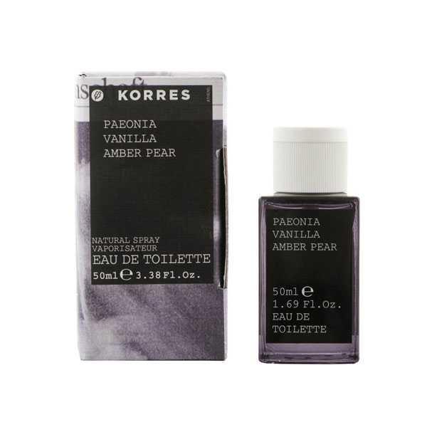 Korres Fragrance Paeonia, Vanilla, Amber Pear 50ml