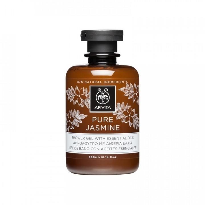 Apivita Shower Gel Pure Jasmine 300ml