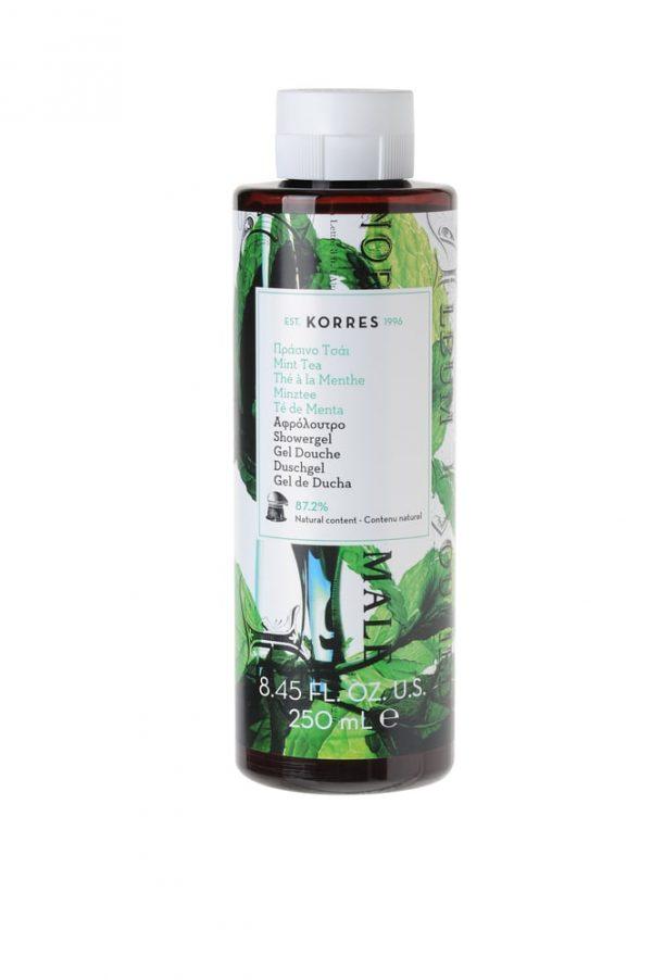 Korres Mint Tea Shower Gel 250ml