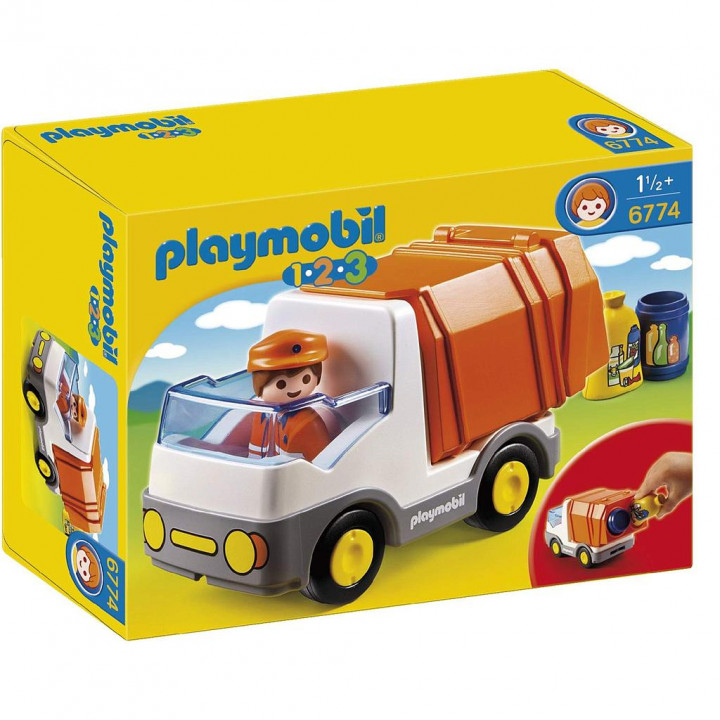 PLAYMOBIL 6774 - Απορριμματοφόρο όχημα