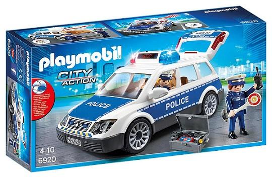 PLAYMOBIL 6920 - Περιπολικό Όχημα Με Φάρο & Σειρήνα