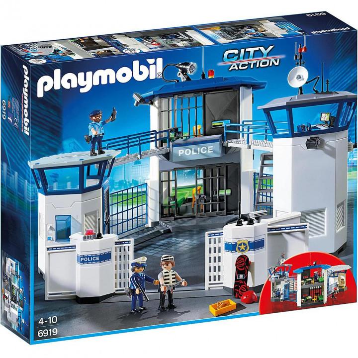 PLAYMOBIL 6919 - Αρχηγείο Αστυνομίας και φυλακή ασφαλείας