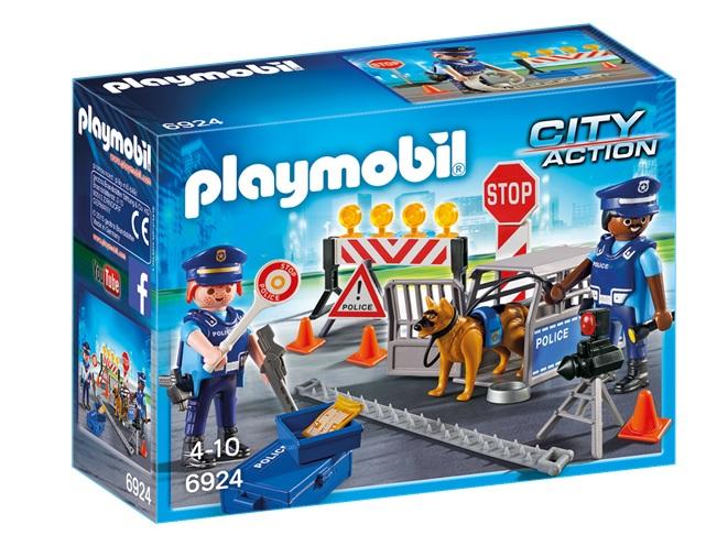 PLAYMOBIL 6924 - Οδόφραγμα Αστυνομίας