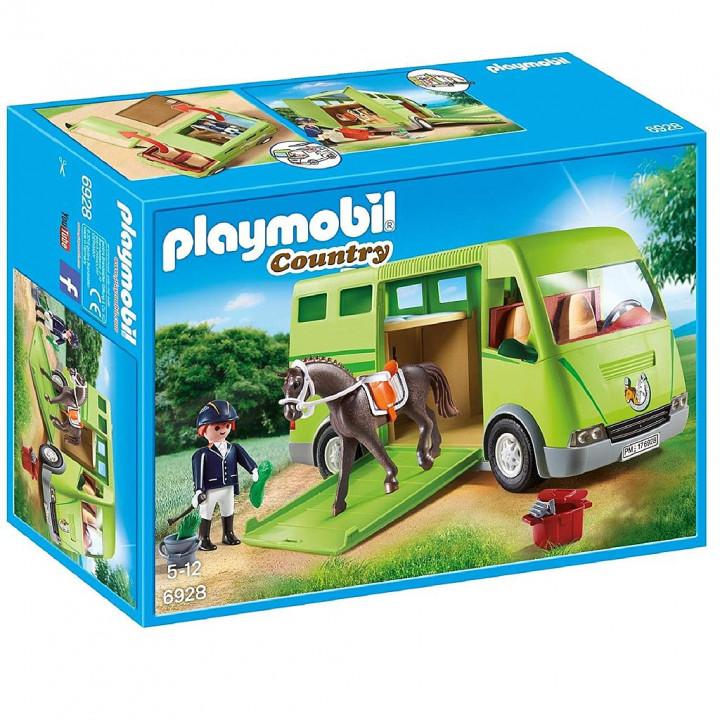 PLAYMOBIL 6928 - Όχημα μεταφοράς αλόγων