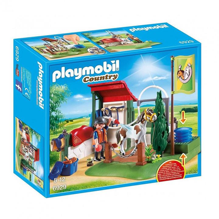 PLAYMOBIL 6929 - Σταθμός περιποίησης αλόγων