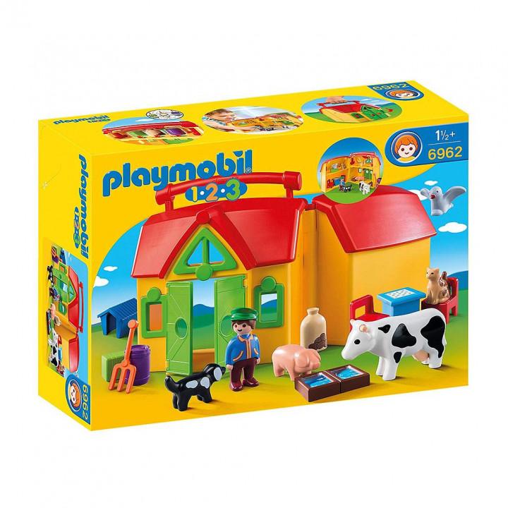 PLAYMOBIL 6962 - Φάρμα-βαλιτσάκι