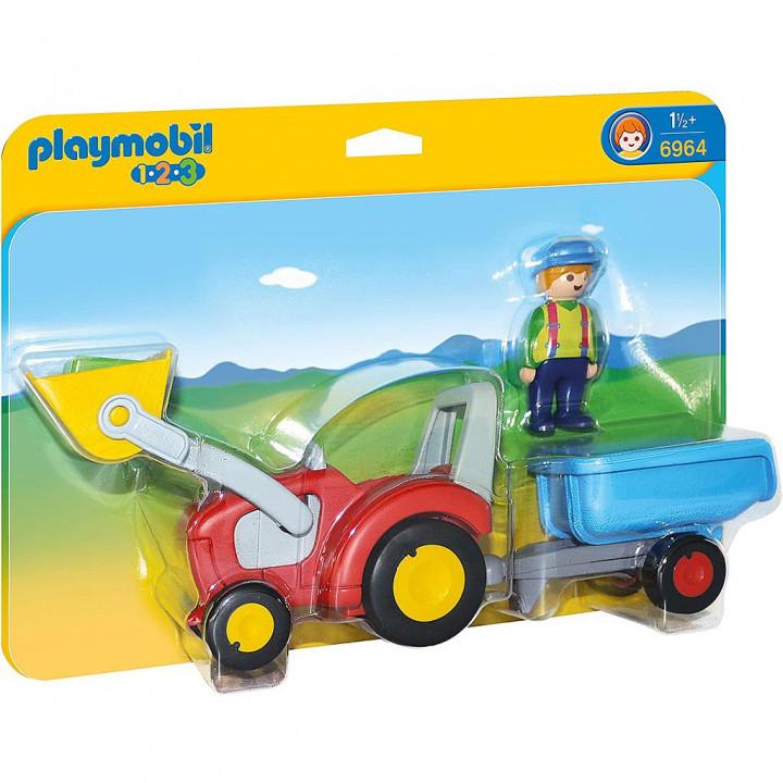 PLAYMOBIL 6964 - Τρακτέρ με καρότσα