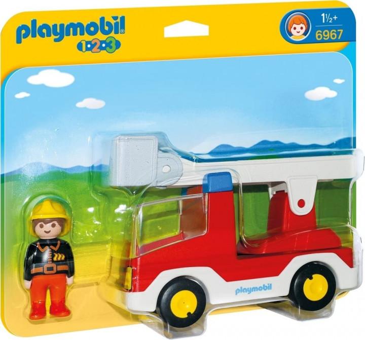 PLAYMOBIL 6967 - Πυροσβέστης με κλιμακοφόρο