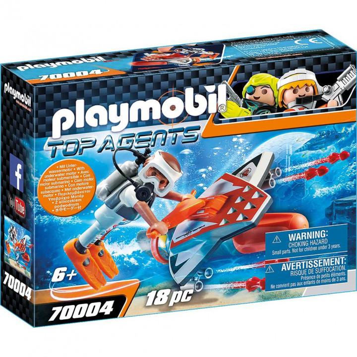PLAYMOBIL 70004 - Υποθαλάσσιο Τζετ της Spy Team