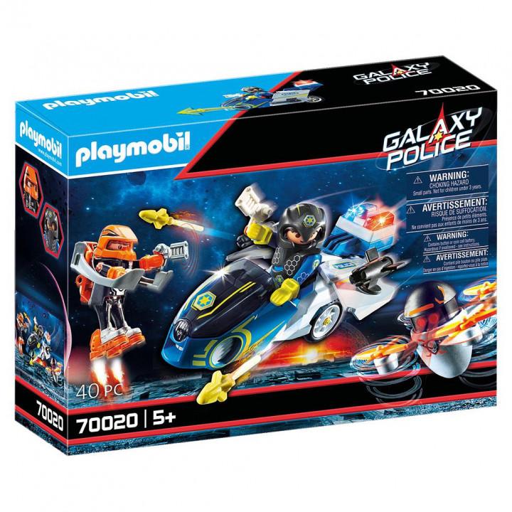 PLAYMOBIL 70020 - Μοτοσικλέτα GALAXY POLICE