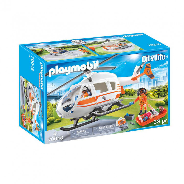 PLAYMOBIL 70048 - Ελικόπτερο Διάσωσης