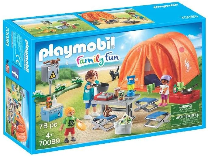 PLAYMOBIL 70089 - Οικογενειακή Σκηνή Camping
