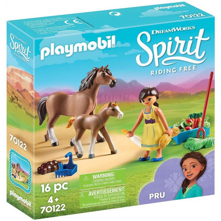 PLAYMOBIL 70122 - Η Πρου με άλογο και πουλάρι