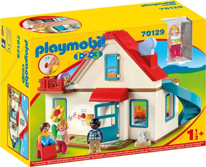 PLAYMOBIL 70129 - Επιπλωμένο Σπίτι