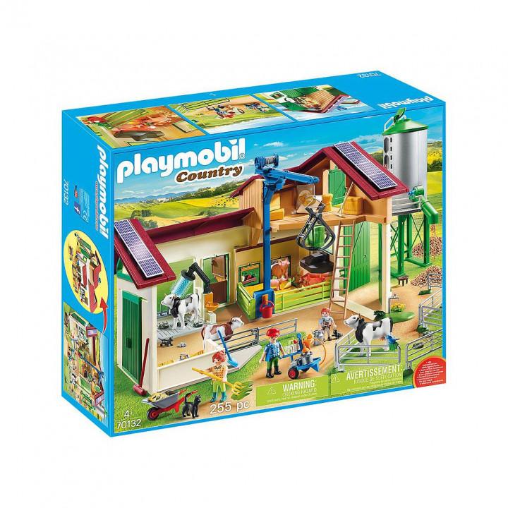 PLAYMOBIL 70132 - Μεγάλη Φάρμα με ζώα και σιλό