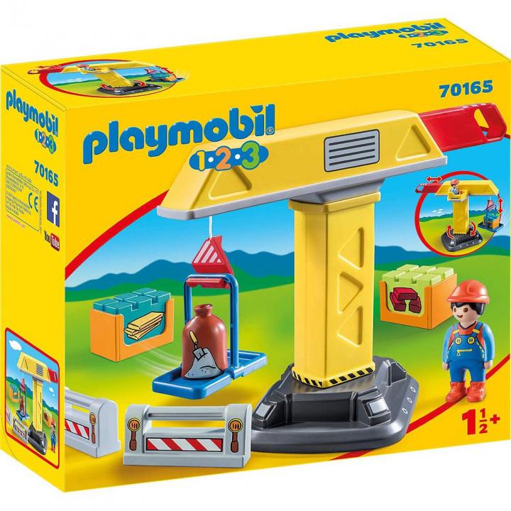 PLAYMOBIL 70165 - Γερανός Κατασκευών