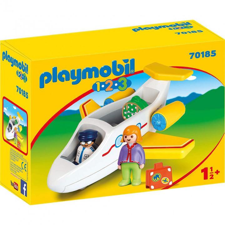 PLAYMOBIL 70185 - Αεροπλάνο με επιβάτη