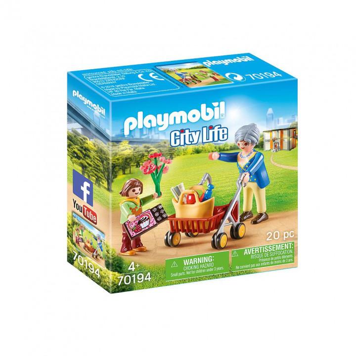 PLAYMOBIL 70194 - Γιαγιά με εγγονή