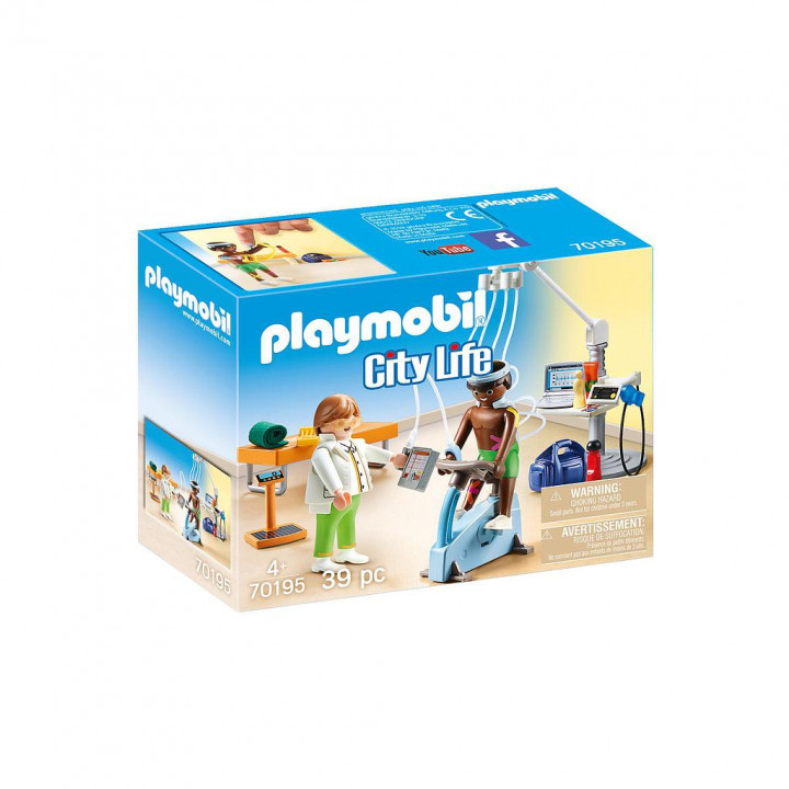 PLAYMOBIL 70195 - Κέντρο Φυσιοθεραπείας