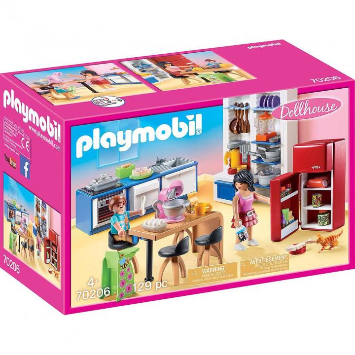 PLAYMOBIL 70206 - Κουζίνα κουκλόσπιτου