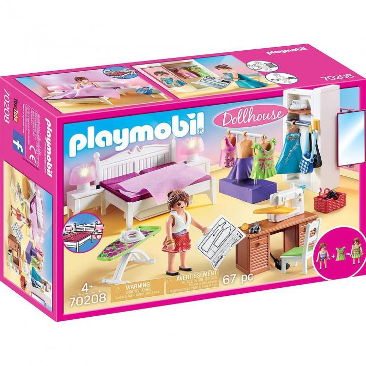 PLAYMOBIL 70208 - Υπνοδωμάτιο με Ατελιέ ραπτικής