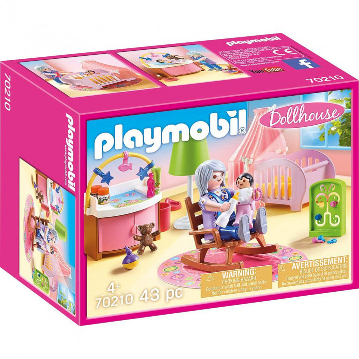 PLAYMOBIL 70210 - Δωμάτιο μωρού