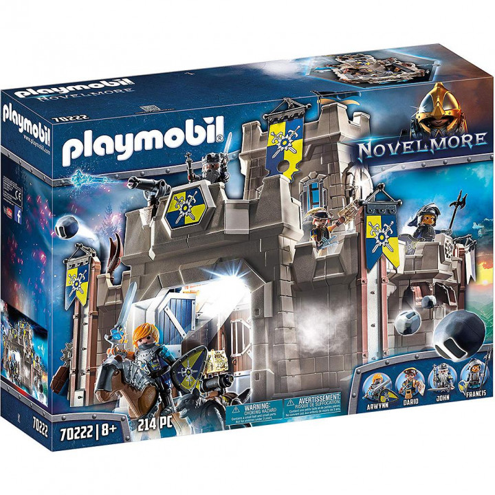 PLAYMOBIL 70222 - Φρούριο του Νόβελμορ