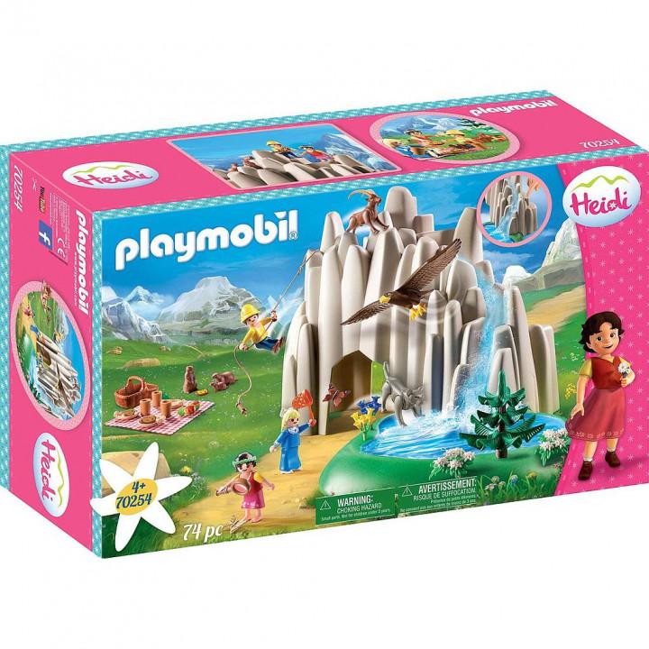 PLAYMOBIL 70254 - Η Χάιντι, ο Πέτερ και η Κλάρα στην Κρυστάλλινη Λίμνη