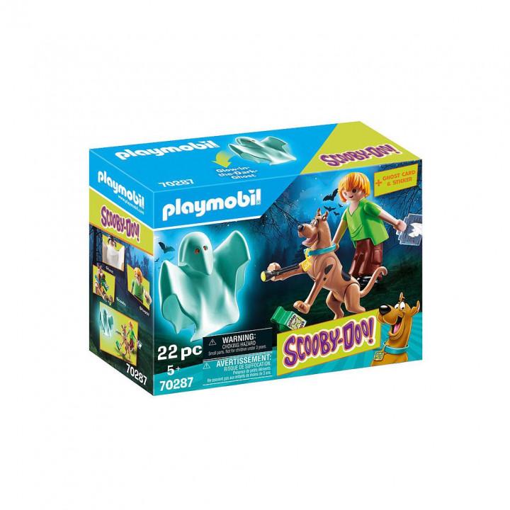PLAYMOBIL 70287 - SCOOBY-DOO! Ο Σκούμπι και ο Σάγκι με ένα φάντασμα